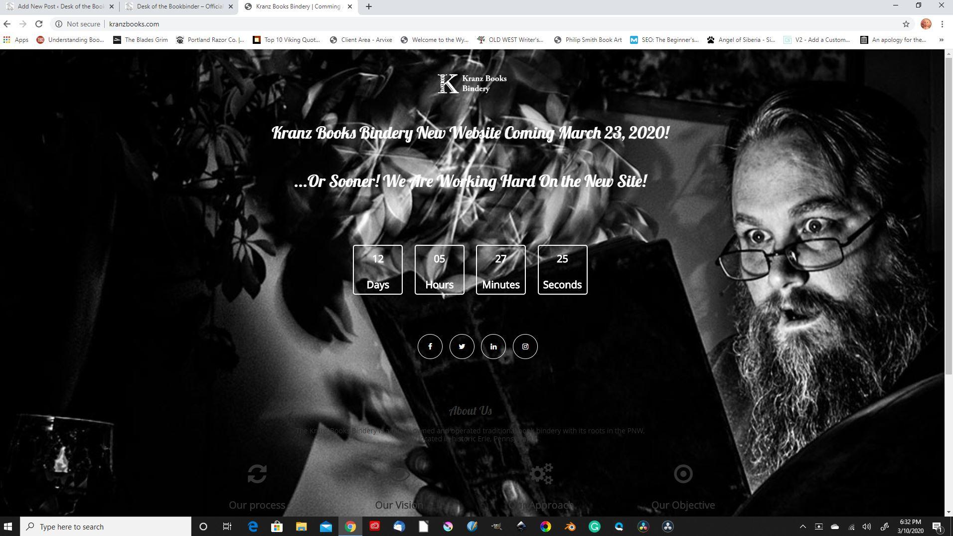 Website Countdown Image